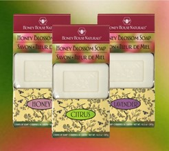 Honey Blossom Soap-Box of 3/3.5 oz