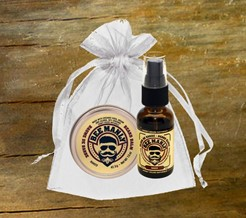 Certified Organic! Bee Manly 2/pc Gift Set