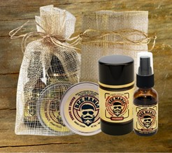 Certified Organic!  Bee Manly 3/pc Gift Set