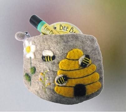 Wool Bee Bag Set | Soap Gifts | Honey House Naturals
