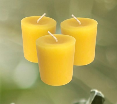 Beeswax  Votive Candle | Honey House Naturals