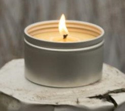 Beeswax Tinned Candle