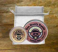 Bee Manly Hands and Beard Gift Set